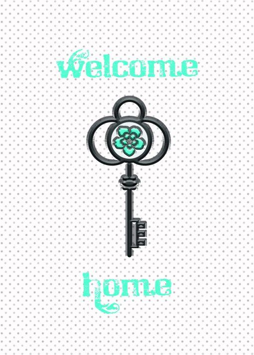 Welcome Home Key Card