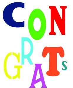Handwritten Notes Congratulations